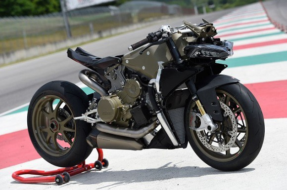 ducati project 1408, the last v2 before the new v4