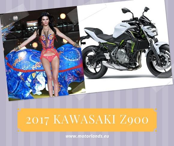 Kendall Jenner kawasaki z900 2017