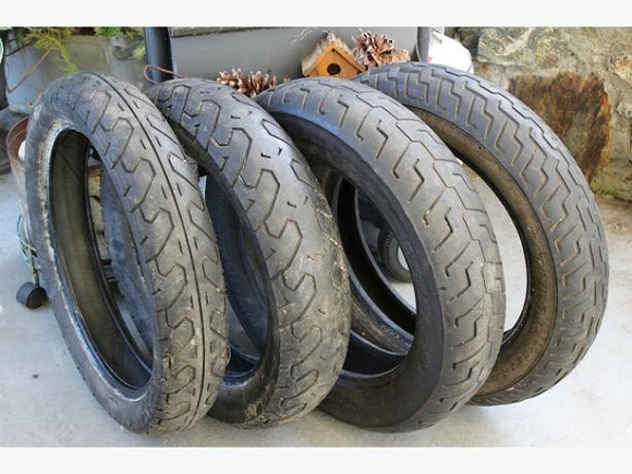 Used Motorcycles Tires for Sale 1