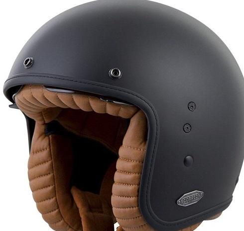 Scorpion Exo Belfast 34 Open Face Helmet size