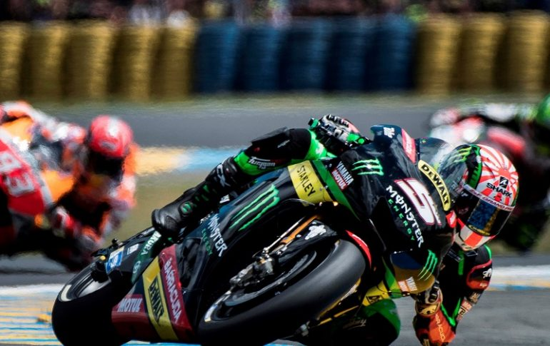 frenchman johann zarco starts with great numbers in motogp. Black Bedroom Furniture Sets. Home Design Ideas