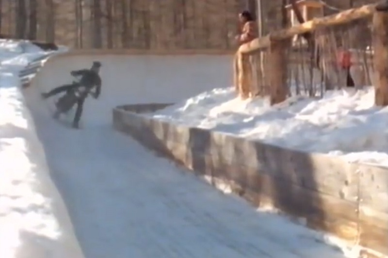 james bond death motorcycle number 3