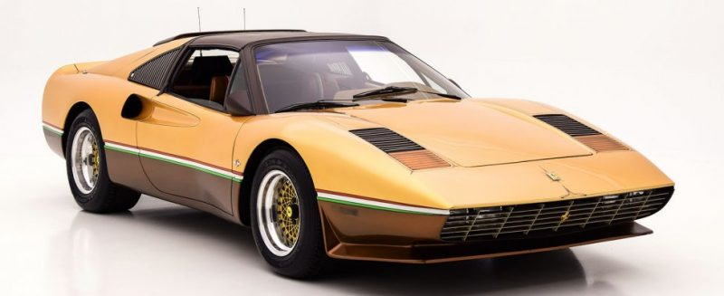 Ferrari 308 GTS, The Golden Edition of Barry is Unique