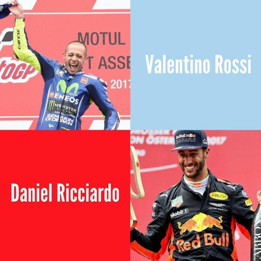 "Daniel Ricciardo praises Valentino Rossi: ""He is incredible, He is my idol"""