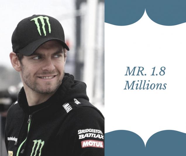MR. 1.8 Millions Crutchlow