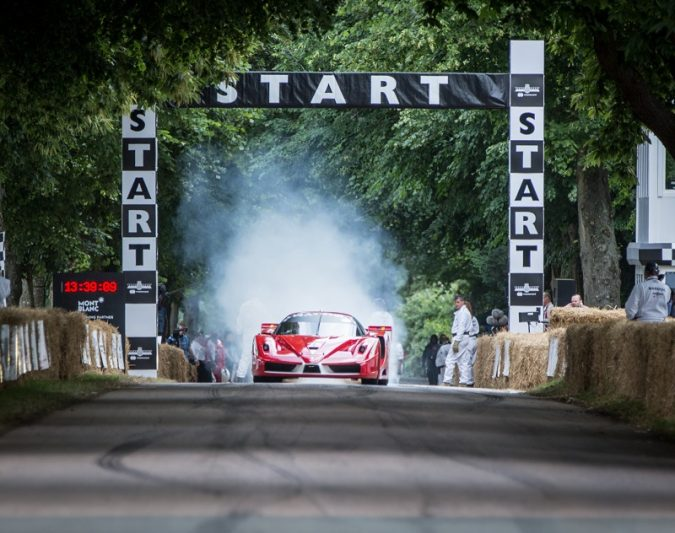 Ferrari 70th Anniversary, The celebration starts to Goodwood