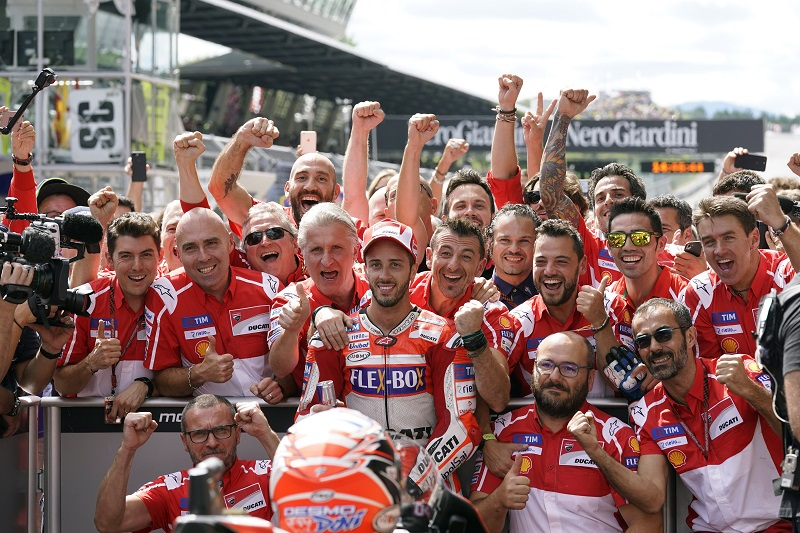 Andrea Dovizioso Ducati MotoGP team