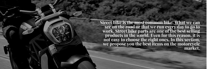 street bike parts banner