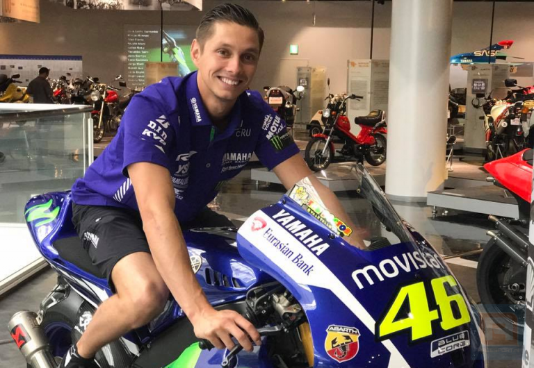 Michael van der Mark, The Interview of the Valentino Rossi's reserve