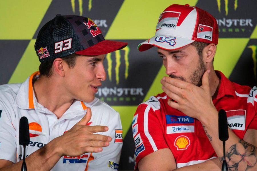 marc marquez vs andrea dovizioso motogp 2017 2