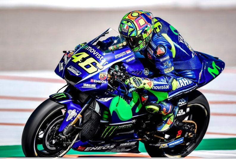 Valentino Rossi The Doctor works hard for the next MotoGP season